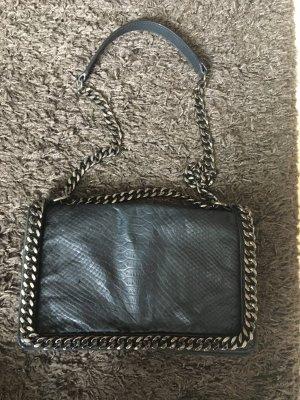 Zara Tasche im Kroko-Style mit Riemchen