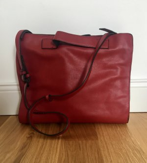 Zara Crossbody bag carmine-dark red