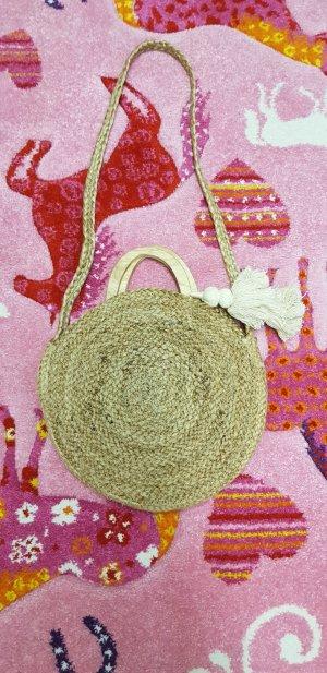 Zara Basket Bag cream
