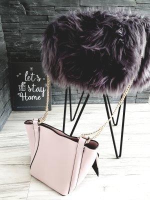Zara Woman Borsa a tracolla color oro rosa