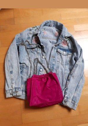 Zara Tasche Pink Kettenhenkel Silber chain