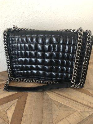 Zara tasche schwarz Luxus Designer