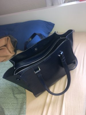 Zara Handbag dark blue-black