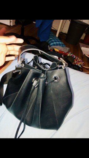 Zara Handbag black-silver-colored