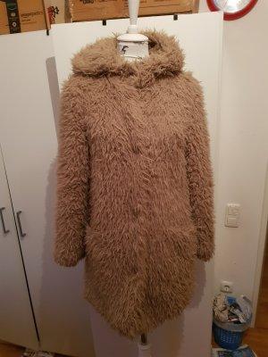 Zara Veste longue brun