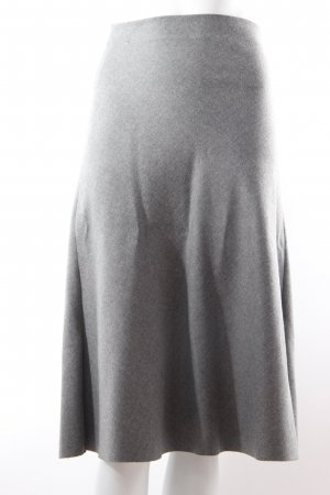 Zara Jupe corolle gris polyester