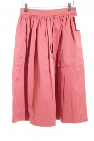 Zara Circle Skirt salmon retro look