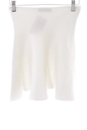 Zara Falda circular blanco puro