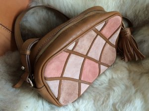 Zara Sac marron clair-vieux rose cuir