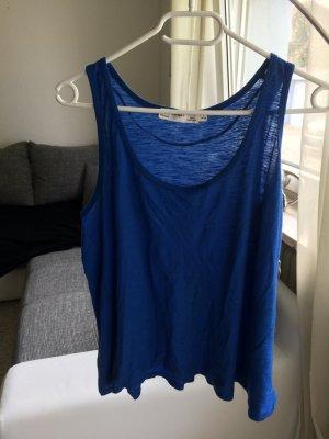 Zara Top Blau   Größe L