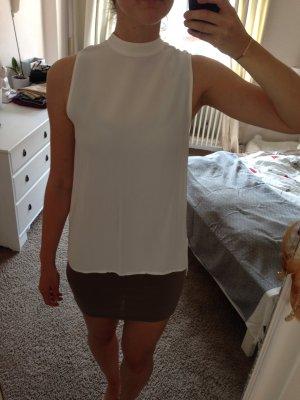 Zara Top Bluse weiss
