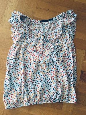 Zara Basic Boatneck Shirt multicolored