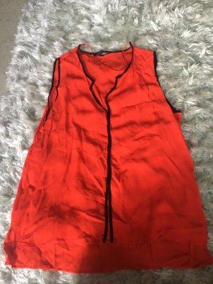 Zara Camicetta a blusa rosso
