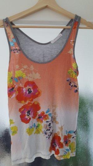 Zara Top mit Blumenprint