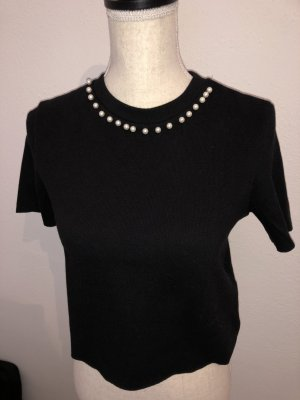 Zara Knitted Top black
