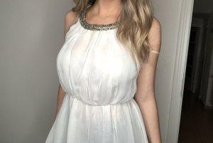 Zara Débardeur à bretelles blanc