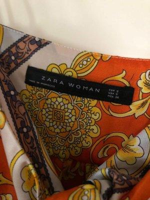 Zara Top Muster Schleife Gr. S