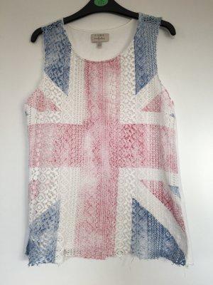 Zara A-lijn top wit