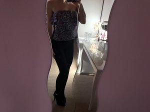 Zara Hauts épaule nues multicolore