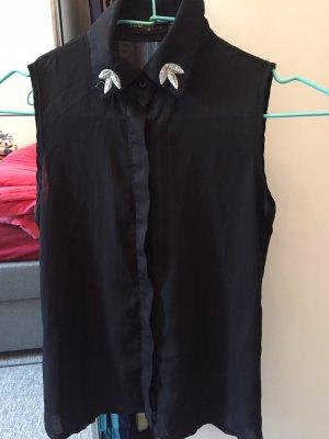 Zara Blusa nero