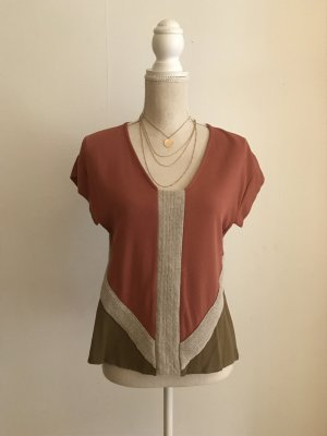 Zara top Shirt mit Muster S