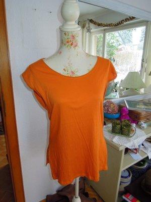 Zara Top T-Shirt Orange Gr. S  36/38 NEU