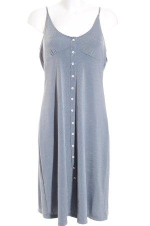Zara Trägerkleid blau-weiß Streifenmuster Casual-Look