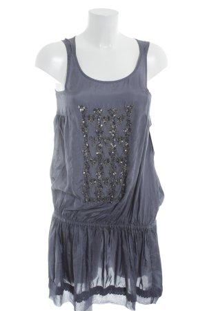 Zara Trägerkleid blauviolett Romantik-Look
