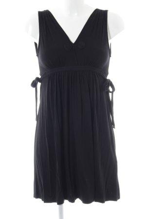 Zara Trägerkleid schwarz Casual-Look