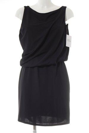 Zara Pinafore dress dark blue casual look