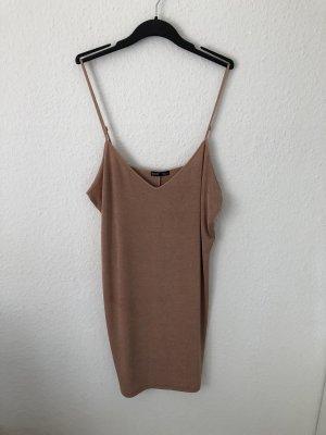 Zara Trägerkleid Nude