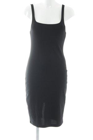 Zara Trägerkleid schwarz Beach-Look