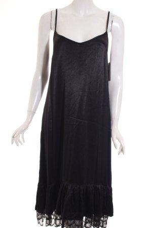 Zara Trägerkleid schwarz klassischer Stil