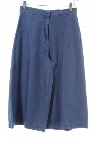 Zara Trafaluc 3/4 Length Trousers blue casual look