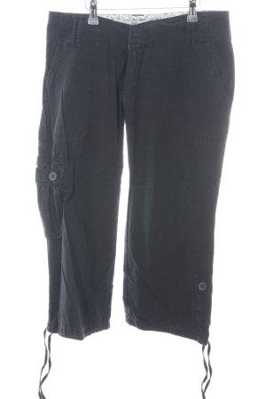 Zara Trafaluc 3/4-broek zwart casual uitstraling