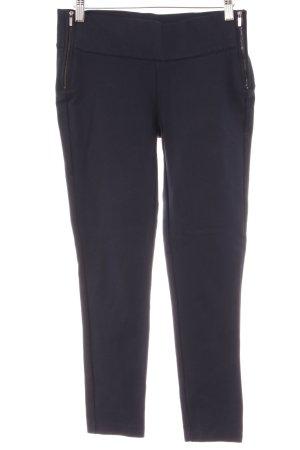 Zara Trafaluc 7/8-Hose dunkelblau Business-Look