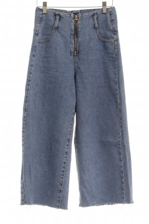 Zara Trafaluc 7/8 Jeans hellblau Casual-Look