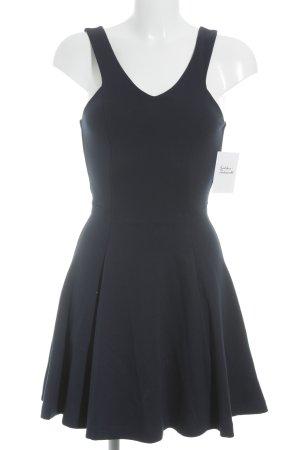 Zara Trafaluc A-Linien Kleid dunkelblau Paris-Look