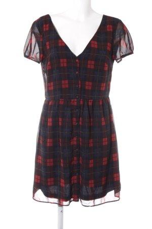 Zara Trafaluc A-Linien Kleid Karomuster Casual-Look