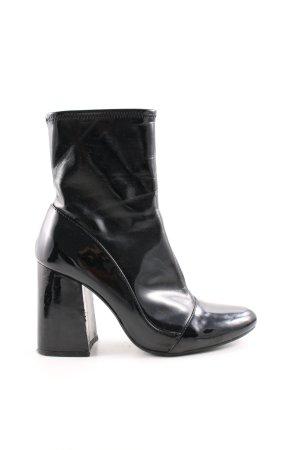 Zara Trafaluc Heel Boots black casual look