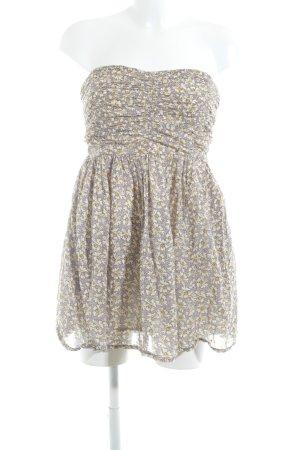 Zara Trafaluc ärmellose Bluse florales Muster minimalistischer Stil