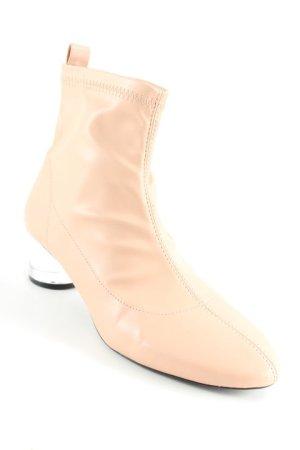 Zara Trafaluc Ankle Boots altrosa-schwarz Elegant