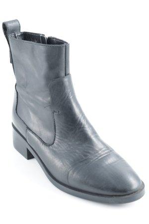Zara Trafaluc Ankle Boots schwarz schlichter Stil