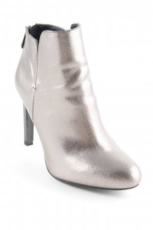 Zara Trafaluc Ankle Boots silberfarben Party-Look