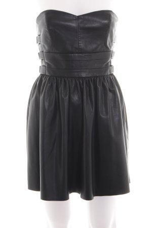Zara Trafaluc Vestido bandeau negro elegante