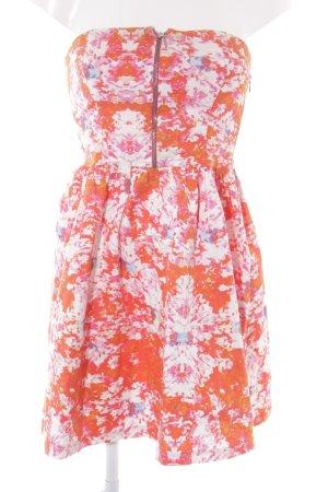 Zara Trafaluc Robe bandeau motif floral style décontracté
