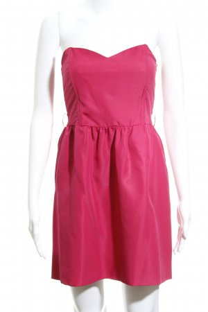 Zara Trafaluc Bandeaukleid magenta Party-Look