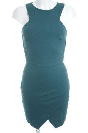 Zara Trafaluc Kokerjurk bos Groen minimalistische stijl