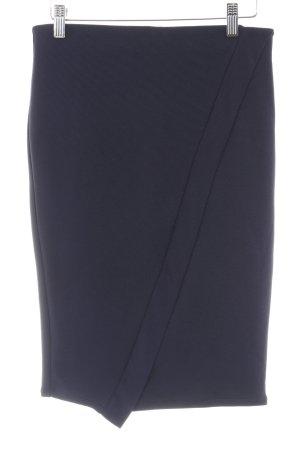 Zara Trafaluc Bleistiftrock dunkelblau Elegant