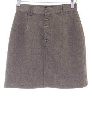Zara Trafaluc Bleistiftrock graubraun Brit-Look